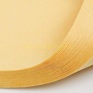 1mm Açık Turuncu renk ince sentetik keçe