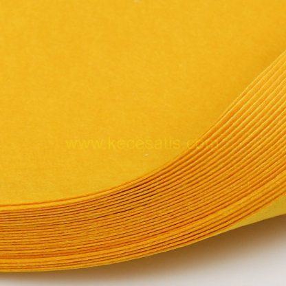 1mm Altın Sarısı renk ince sentetik keçe
