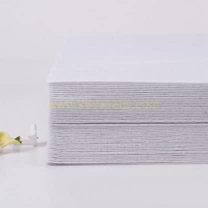 1mm beyaz renk ince sentetik keçe