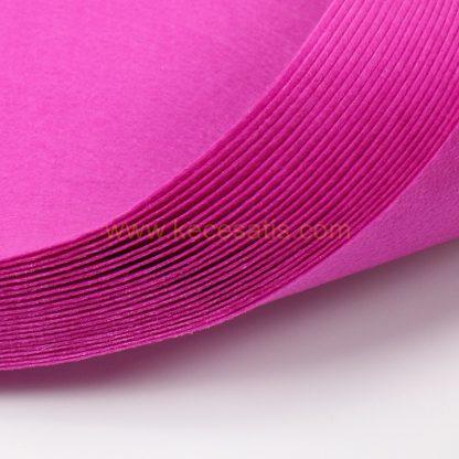 1mm Eflatun renk ince sentetik keçe
