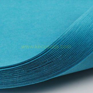 1mm Göl Mavisi renk ince sentetik keçe
