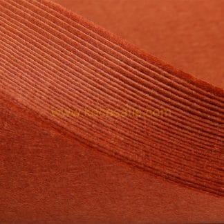 1mmkahverengi renk ince sentetik keçe