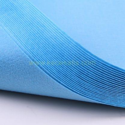 1mm mavi renk ince sentetik keçe