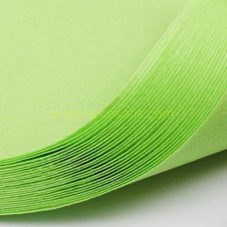 1mm Kireç Yeşil renk ince sentetik keçe