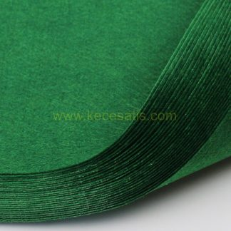 1mm Koyu Yeşil renk ince sentetik keçe