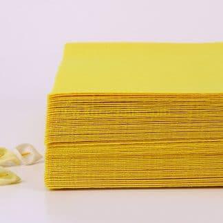 1mm Sarı renk ince sentetik keçe
