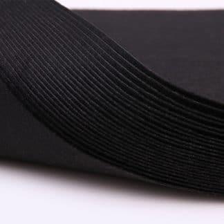 1mm siyah renk ince sentetik keçe