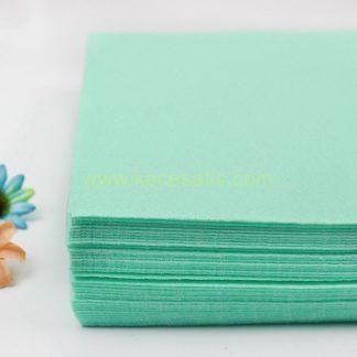 1mm Taze Yeşil renk ince sentetik keçe
