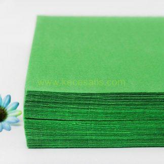 1mm Yeşil renk ince sentetik keçe